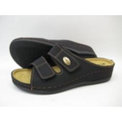 Sandal slip in tofflor INBLU toffel svart 42