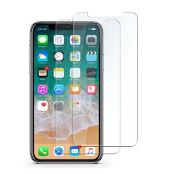2-pack Härdat glas skärmskydd iPhone X/XS