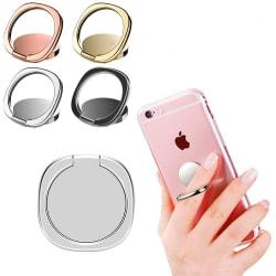 4 Färger - Mobilring / Ringhållare Mobil Roterbar Grå / Svart