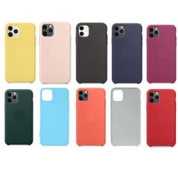 Färgglada iPhone 11 Skal - 10 Färger Nr. 1 Gul