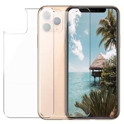 iPhone 12 / 12 Pro Temperat Glas Framsida & Baksida