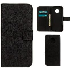 Plånboksfodral Motorola Moto G6 Plus - Svart Black