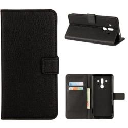 Plånboksfodral Huawei Mate 10 Pro - Svart Svart