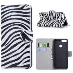 Plånboksfodral Huawei P Smart (2018) - Zebra