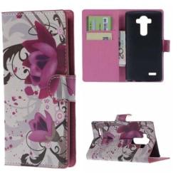 Plånboksfodral LG G4 – Lotus