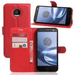 Plånboksfodral Motorola Moto Z - Röd