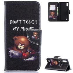 Plånboksfodral Samsung Galaxy A10 - Don't Touch My Phone
