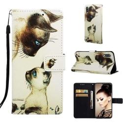 Plånboksfodral Samsung Galaxy A10 – Katter