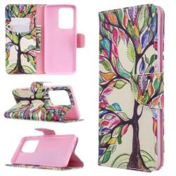 Plånboksfodral Samsung Galaxy S20 Ultra – Färgglatt Träd