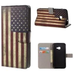 Plånboksfodral Samsung Xcover 4 / 4s - Flagga USA