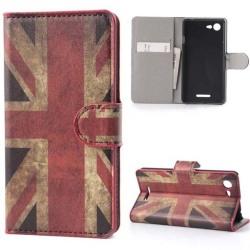Plånboksfodral Sony Xperia E3 - Flagga UK