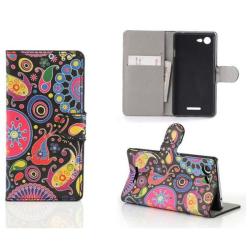 Plånboksfodral Sony Xperia E3 - Jellyfish / Maneter