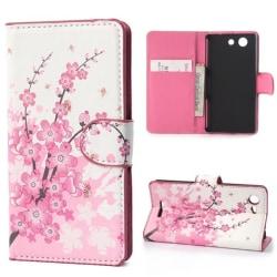 Plånboksfodral Sony Xperia E3 - Körsbärsblommor / Cherry Tree
