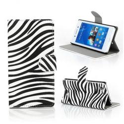 Plånboksfodral Sony Xperia E3 - Zebra