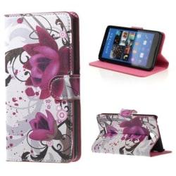 Plånboksfodral Sony Xperia E4 – Lotus