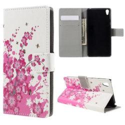 Plånboksfodral Sony Xperia E5 - Körsbärsblommor