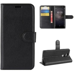 Plånboksfodral Sony Xperia XA2 - Svart Black