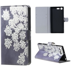 Plånboksfodral Sony Xperia XZ Premium – Små Blommor