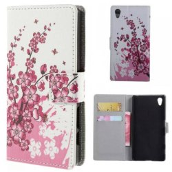 Plånboksfodral Sony Xperia Z5 Premium - Körsbärsblommor