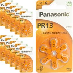 13 60-Pack PANASONIC - Hörapparatsbatterier PR13