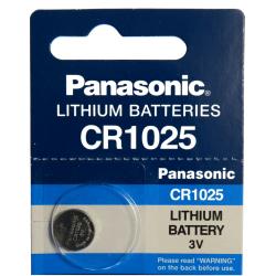 CR1025 Panasonic Litium3V Batt