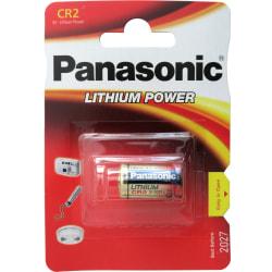 CR2 Panasonic 1-Pack Litium 3V