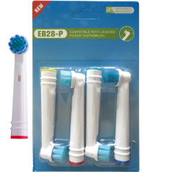 4-Pack Oral-B Kompatibla Tandborsthuvud Sensitive EB28-P