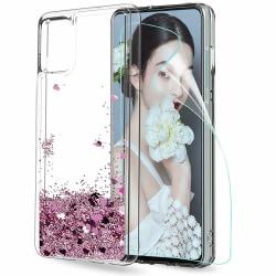 Huawei P40 Pro - Flytande Glitter 3D Bling Skal Case