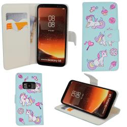 "Samsung Galaxy S8 - Plånboksfodral - ""Unicorn"""