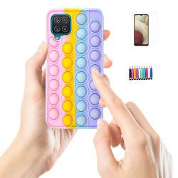 Samsung Galaxy A12 / A12 5G - Skal / Skydd / Pop It Fidget