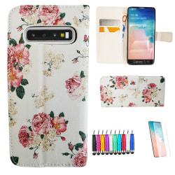 Samsung Galaxy S10 Plus - Läderfodral / Skydd