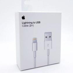 Apple Lightning kabel USB till Lightning 2M Vit