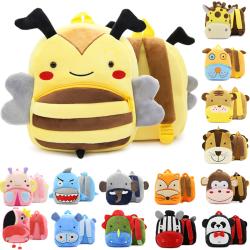 Animal children's school bag student backpack cartoon school bag lion 24*26*10cm