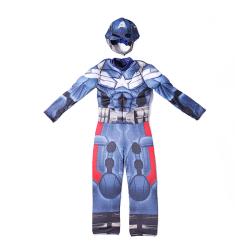 Captain America cosplay kostym underkläder Halloween cosplay kostym L