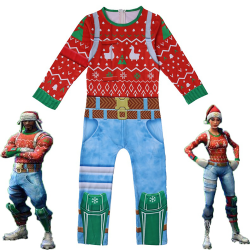 Christmas Ranger Set Halloween Cosplay Kostym Kid Style