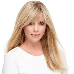 Kvinnor långa blonda raka naturliga hår syntetiska peruker Golden 65cm