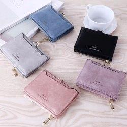 Trendig retro frostat kort plånbok lätt att bära