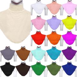Kvinnas retro snodd - mjuk och trendig halsduk - Kvinnas retr ArmyGreen
