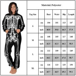 Spacesuit tryckt herr- och damjacka med huva Space XL