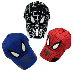 Spiderman keps tecknad barn baseball keps hip hop keps