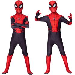 Spiderman kostym i ett stycke Body kostym Halloween cosplay kostym 180