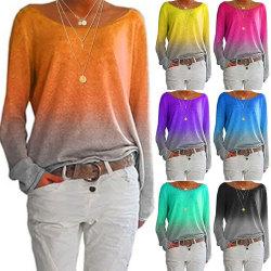 Långärmad T-shirt för kvinnor