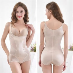 Kvinnors g-sele i ett stycke bukstöd bröst midja träning complexion M