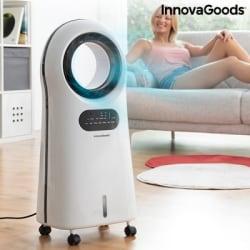 Bladlös & Bärbar luftkonditionering med LED