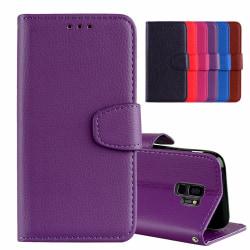 Samsung Galaxy S9+ - Stilrent Plånboksfodral från NKOBEE Lila