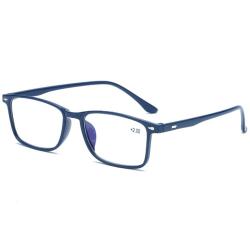 Anti-Blue Ljus Läsglasögon (+1.0 - +4.0) Blå 2.5