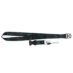 Marmor Design Nyckelband Grön