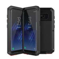 Army HEAVY DUTY (Stryktålig) Aluminum för Samsung Galaxy S8 Svart