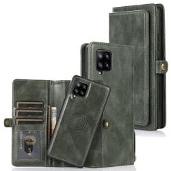 Samsung Galaxy A42 - Stilrent 2-1 Plånboksfodral Mörkgrön