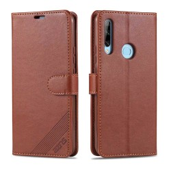Huawei P Smart Z - YAZUNSHI Plånboksfodral Brun